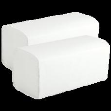 Бумажные полотенца V-сложения , размер 23*24 см, 200 листов, 1 слой, белый (V / ZZ-сложение) (20 шт/упак), арт. 210600