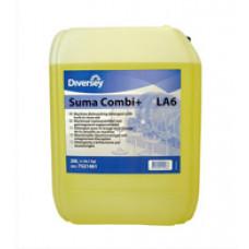 Suma Combi+ LA6 / Жидкий детергент с ополаскивателем 2в1 для воды с жесткостью до 12dH 20 л, арт. 7521462