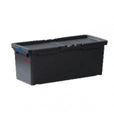 Контейнер для мопов для Ориго 2 с 2 синими клипсами цветового кодирования, черный, арт. 534533