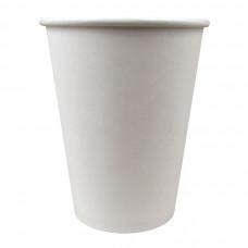 Стакан для горячих и холодных напитков 400/518 мл d90 белый картон (50 шт/упак)