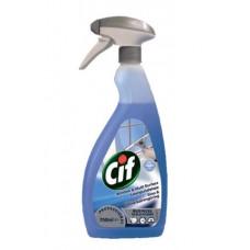 Средство для чистки поверхностей из нержавеющей стали и стекол / Cif Stainless Steel&Glass, 0,75 л, арт. 7518664