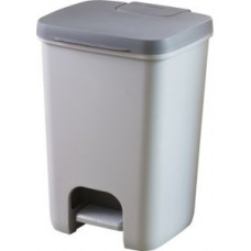 Корзина для мусора с педалью, рамкой и лотком CURVER ESSENTIALS 20L / 225360, арт. 225360