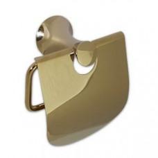 MAGNUS 97003 Держатель для туалетной бумаги с экраном / светлое золото, арт. 97003