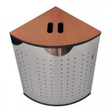 Корзина для белья угловая перфорированная 55л Klimi 853055, арт. 853055