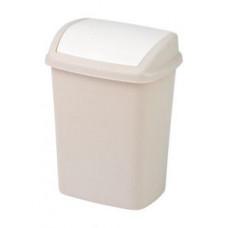 Корзина для мусора CURVER DOMINIK 10L бежевый / 176504, арт. 176504