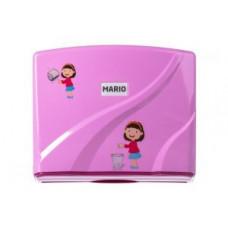 Диспенсер для бумажных полотенец G-teq Mario Kids 8329 Pink