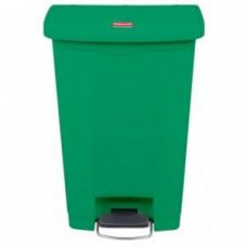 Rubbermaid Slim Jim 1883584 Контейнер с педалью Step-On / 50 л / зеленый