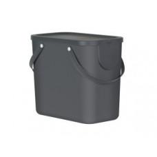 Rotho 10249-BL Контейнер для сортировки мусора ALBULA 25 л / черный