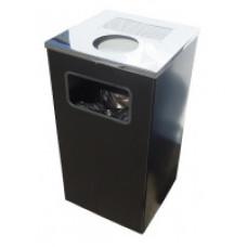 Корзина для мусора уличная Titan Kvadro-11-80B, арт. Kvadro-11-80B