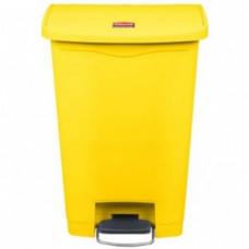Rubbermaid Slim Jim 1883575 Контейнер с педалью Step-On / 50 л / желтый