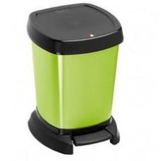 Контейнер для мусора с педалью Rotho PASO 6л зеленый / 1116510747, арт. 1116510747