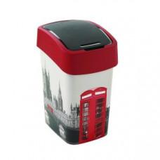 Корзина для мусора с откидной крышкой CURVER FLIP BIN 25L Лондон / 209994, арт. 209994