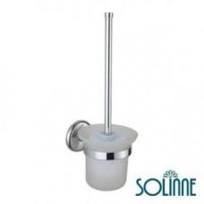 Ершик для унитаза настенный / хром / Solinne 2522.012