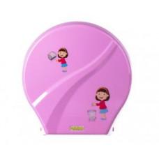 Диспенсер для туалетной бумаги G-teq Mario Kids 8165 Pink
