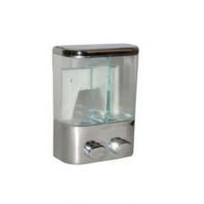 Дозатор для жидкого мыла двойной DEW 300A, арт. 300A