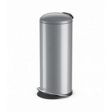 Hailo TOPdesign L 0523-519 Мусорный контейнер Серебро, арт. 0523-519