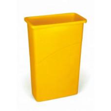 Контейнер для мусора Rubbermaid SlimJim 87л / желтый / FG354000YEL