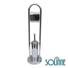 Ершик для унитаза с держателем туалетной бумаги Solinne Y707, арт. Y707