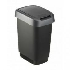 Rotho 1754308850 Контейнер для мусора Swing TWIST 10 л, арт. 1754308850