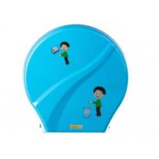 Диспенсер для туалетной бумаги G-teq Mario Kids 8165 Blue