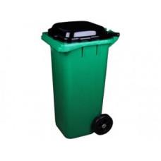 Контейнер для мусора на колесах 120л, зеленый, арт. 4603, арт. 4603
