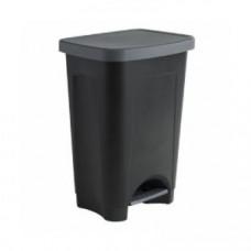 Контейнер для мусора с педалью Rotho 25 л черный / 1450408080