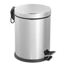 Урна педальная из нержавеющей стали / хром 3 л / Klimi 402-00, арт. 402-00