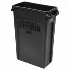 RUBBERMAID FG354060BLA Контейнер SlimJim с вентиляционными каналами