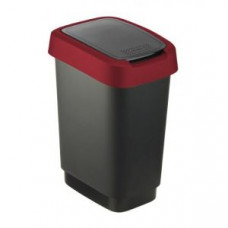 Rotho 1754302255 Контейнер для мусора Swing TWIST 10 л, арт. 1754302255