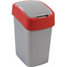 Корзина для мусора с откидной крышкой CURVER FLIP BIN 10L красный / 190170, арт. 190170