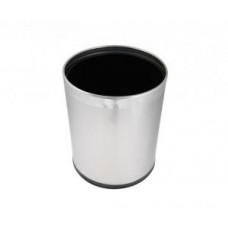Корзина для бумаги из нержавеющей стали 9л Klimi D-14664/WB09LM, арт. D-14664/WB09LM