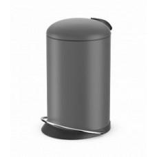 Hailo TOPdesign M 0516-790 Мусорный контейнер Матовый серый, арт. 0516-790