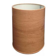 Урна металлическая Titan U250-30D / цвет дерево / 30л, арт. U250-30D