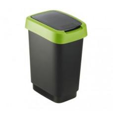 Rotho 1754305519 Контейнер для мусора Swing TWIST 10 л, арт. 1754305519