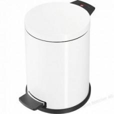 Hailo ProfiLine Solid M 0514-099 Мусорный контейнер с оцинкованным ведром 12л белый, арт. 0514-099