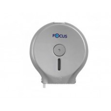8027967 Focus Mini Jumbo Диспенсер для туалетной бумаги / серебро, арт. 8027967