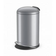 Hailo TOPdesign M 0514-450 Мусорный контейнер Серебро, арт. 0514-450