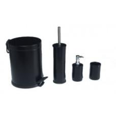 Набор для ванной комнаты / черный / Klimi 476S-00, арт. 476S-00