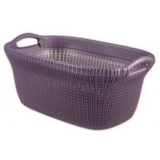 240474 Корзина для глаженного белья Curver Knit / 40 л