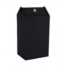 Урна Jofel 180л металлическая прямоугольная/черный, арт. AL71700N