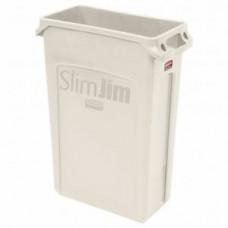 RUBBERMAID FG354060BEIG Контейнер SlimJim с вентиляционными каналами