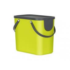 Rotho 10249-L Контейнер для сортировки мусора ALBULA 25 л / лимон