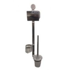 Bennberg BAS-113-CHROME Стойка с аксессуарами для ванной комнаты