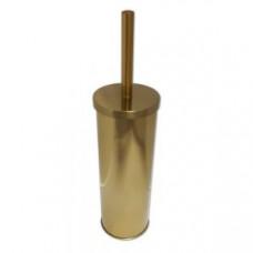 Klimi 307-G Ершик для унитаза из нержавеющей стали / золото, арт. 307-G