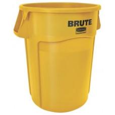 Контейнер для мусора Rubbermaid BRUTE 166,5л / желтый / FG264300YEL