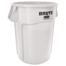 Контейнер для мусора Rubbermaid BRUTE 166,5л / белый / FG264300WHT