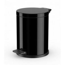 Hailo ProfiLine Solid 0514-742 Мусорный контейнер 12л черный, арт. 0514-742