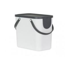Rotho 10249-W Контейнер для сортировки мусора ALBULA 25 л / белый