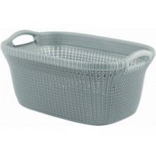 228409 Корзина для глаженного белья Curver Knit / 40 л