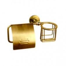Potato P2603-1 Держатель настенный для туалетной бумаги и освежителя воздуха, арт. P2603-1